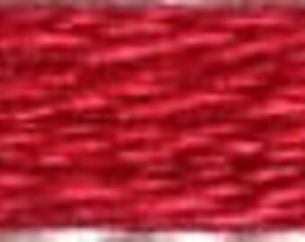 COSMO Embroidery Thread - Light Orient Red 2515-240 - 100% cotton Cosmo Floss 8 meters - Hand Quilting Stitching- Japanese