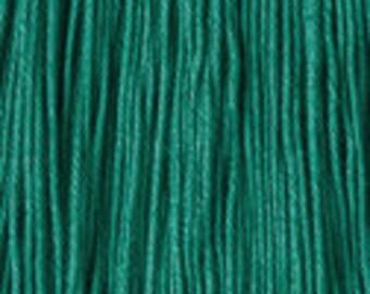 Daruma - Yokota Sashiko Thread #5 GREEN- Fine Thread Gold Label - 100% cotton 40 meter skein - Hand Quilting Stitching- Japanese Import