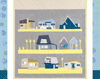 The Local Quilt #1201 Pattern by Carolyn Friedlander - Savor Each Stitch