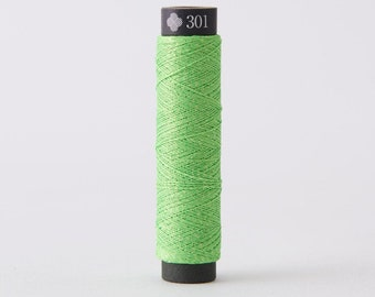 Cosmo - Nishikiito Metallic Embroidery Thread Neon - Frog Color 78-301 - Japanese Import