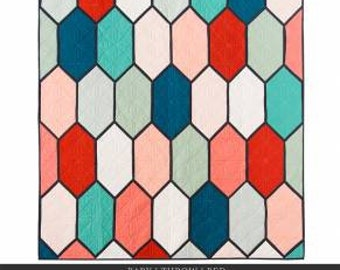Lo & Behold Stitchery - Church Window Quilt Pattern by Brittany Lloyd - Multiple Sizes