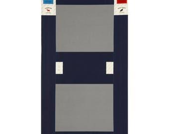 PANEL Lecien - Make It Magic by Koko Seki - Fold Top Backpack BLACK - 40841-100 - Canvas Japanese Import