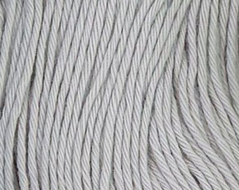 Sashiko Thread #113 GRAY - 100% cotton - 100 meter (109 yd) skein GREY - Hand Quilting and Stitching- Japanese Imported