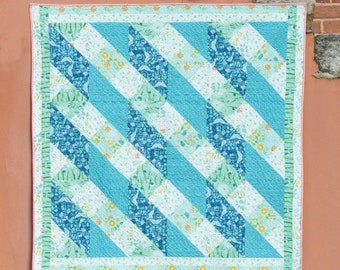 HALFSIES - WEAVE Quilt by May Chappell - Paper Pattern - MC035