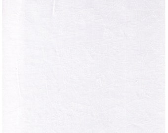 Half Yard - Paris MAP White on WHITE - 3115-4H Eiffel Tower, Coffee and Tea, Cafe, Arc, Rue, France - Japanese Import