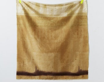 Half Yard Kokka - Nani Iro - Naomi Ito Textile Ripple - 10743-1C - Beige Colorway - Japanese Cotton Sateen