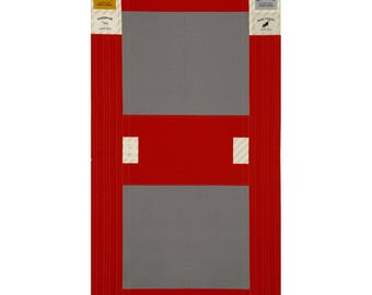 SALE - Precut PANEL Lecien - Make It Magic by Koko Seki - Fold Top Backpack RED - 40841-30 - Canvas Japanese Import