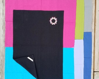"""Solid Plain Weave Towels for Embroidery, Applique, Screenprinting - 20"""" x 28""""  Cross Stitch and Hand Sewing"""