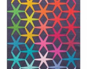 Alison Glass Patterns - SOLSTICE Quilt Pattern by Nydia Kehnle & Alison Glass - Quilt Pattern - Foundation Paper Piecing