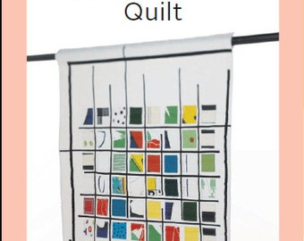 ZAKKA WORKSHOP Patterns - Applique Swatch Quilt by Yoshiko Jinzenji - Autographed - English Edition - Japanese Patchwork Pattern