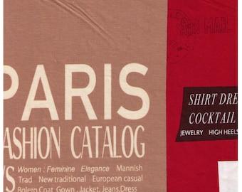 HALF YARD Yuwa - Large Fashion Text Boxes on RED - Suzuko Koseki SZ829608-D - Japanese Import - Print