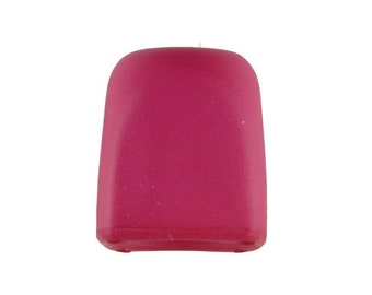 Cord Stopper - Dark Pink Colorway 15 mm - Made in Germany - Washable and Dry Cleanable