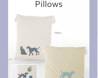 ZAKKA WORKSHOP Patterns - Quilted Silhouette Pillow by Yoshiko Jinzenji - Autographed - English Edition - Japanese Patchwork Pattern