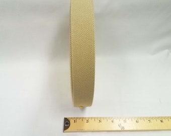 HALF YARD - Japanese Elastic Webbing - Color 389 Taupe - 35MM WIDE - Item 65035 Japanese Imported