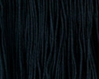 Daruma Yokota Sashiko Thread #20 BLACK Light Sport Solid Color - Red Label - 100% cotton 100 meter skein - Japanese Hand Quilting Stitching