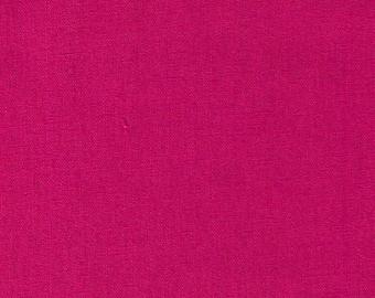 HALF YARD Kokka - Echino Solid Fuchsia Pink - JG-95410-10A Japanese Import Fabric