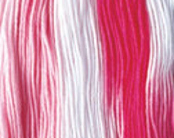 Daruma - Yokota Sashiko Thread #51 PINKS - Light Sport Variegated Thread - 100% cotton 40 meter skein - Japanese Hand Quilting Stitching