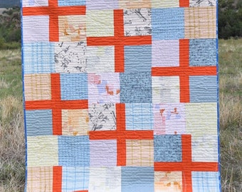 Running Doe Quilts - PROPELLED Quilt Pattern Postcard - By Catherine Cureton For Villa Rosa Designs