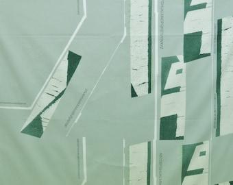 HALF YARD Yuwa - Lines by Yoshiko Jinzenji JZ822326-D - Cotton Shirting - Low Volume Print - Japanese Import Fabric