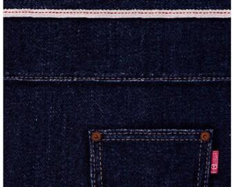 PANEL Cosmo Textile -Photo Realistic Denim with Pocket - Dark Denim Wash - Blue AP42408-2