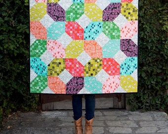 Running Doe Quilts - ASAGAIL Quilt Pattern Postcard - By Catherine Cureton For Villa Rosa Designs