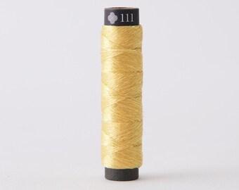 Cosmo - Nishikiito Metallic Embroidery Thread Opali - Pineapple Color 78-111 - Japanese Import