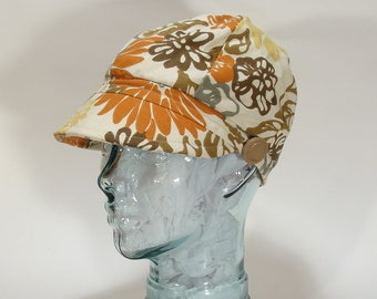 The Jockey Hat Cap Ladies  Cotton Helmut Retro 1960s Vintage Style Size Small- 7 1/8 -(57 cm)