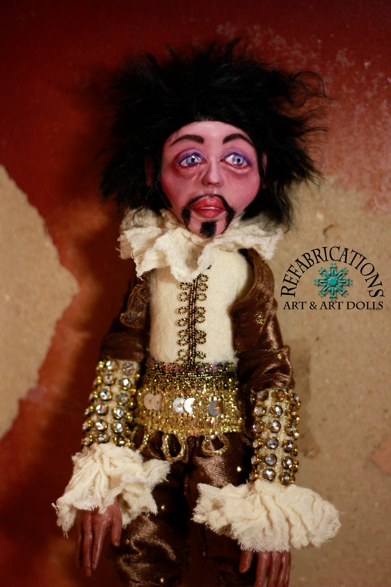 PIERRE  Regal Sir  18th Century Victorian Sculpted Posable image 0