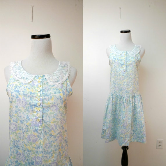 "You Too Babes . sleeveless dress . size 7 . 35"" bu"