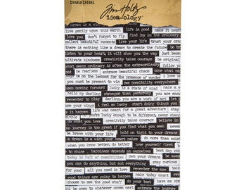Tickets Tim Holtz Numbers License Plates Vintage Labels Idea-ology Salvage Stickers Posters 379 Stickers Junk Journal Bingo People