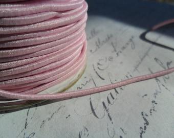 Pale Pink Elastic Cording