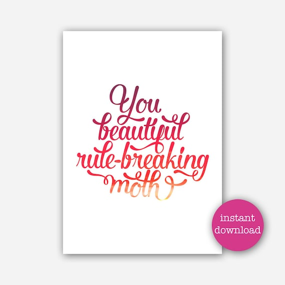 Printable Galentine S Day Card You Beautiful Etsy