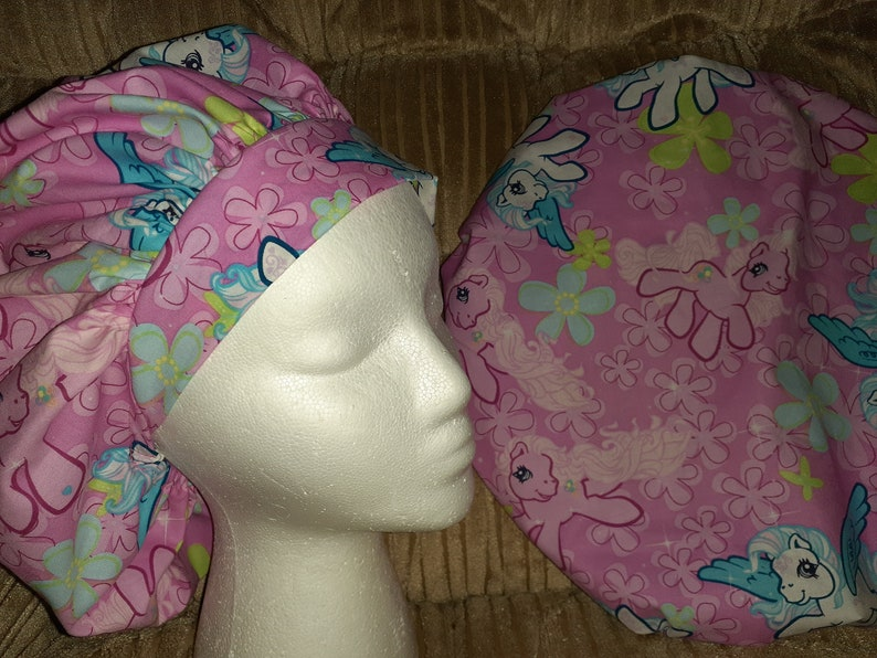 My Little Pony Surgical Medical Scrub Bouffant Hat