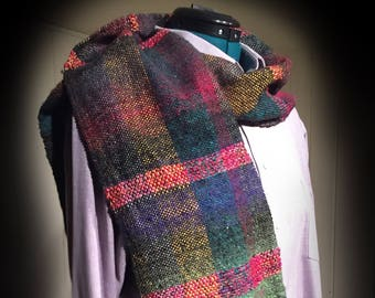 Handwoven Scarf, NORO Scarf,  handmade, Gift for Men, Gift For Women, Mens Scarf, Womens Scarf, Ladies scarf, Scarf for men, Scarf for women