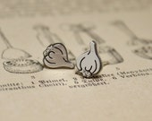Garlic Handcut Sterling S...
