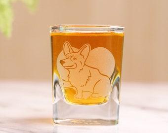 Corgi Dog Shot Glass