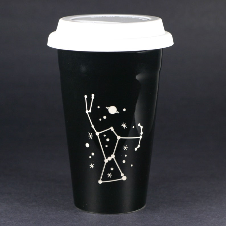 Stars Orion Space Travel Mug With Cup Lid Constellation Y7f6yvbg