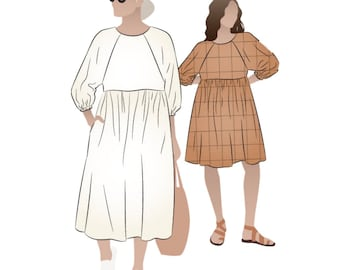 Style Arc AUS Printed Sewing Pattern  Pixie Dress