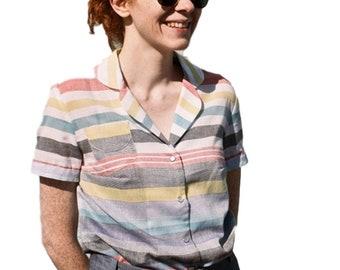 11c4c5bfeef8 Republique du Chiffon (FR)   Printed Sewing Pattern   Juliette Shirt