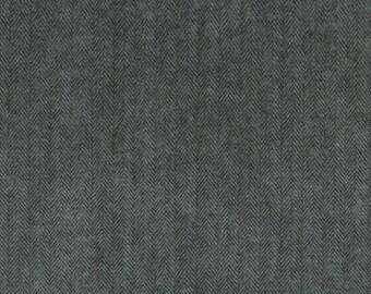 Robert Kaufman FABRIC - Shetland Flannel in Jet