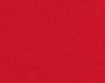 Robert Kaufman FABRIC - Kona Cotton Solid - Red