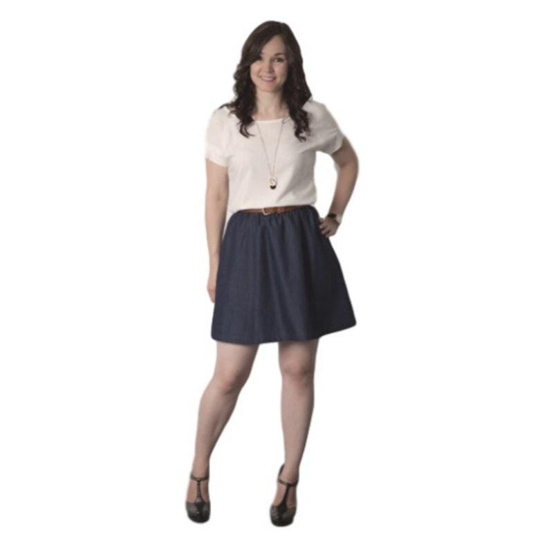 409f3ab78 Sewaholic PATTERN Rae Skirt Sizes 0-16