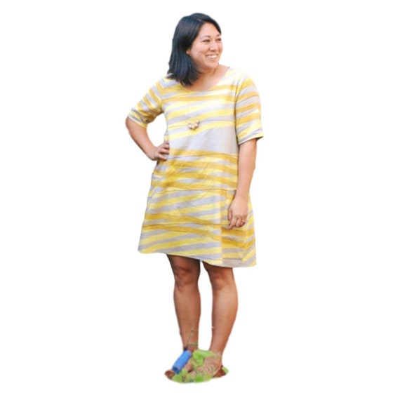 100 wirkt Nähen Muster Kleid Nr. 2 Größen XS 4XL   Etsy