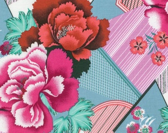 Amy Butler FABRIC - Splendor - Double Fault Floral in Cherry