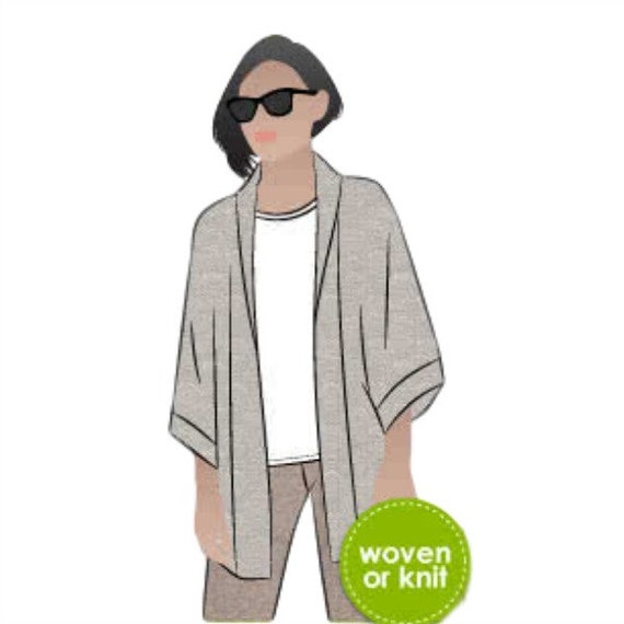 Printed Sewing Pattern  Parker Coat AUS Style Arc
