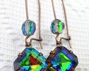 Vitrail Medium Glass Earrings