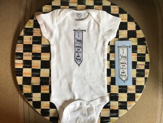 80b8b80b0 Adorable_Artist Created_ Harry Potter Themed Baby Bodysuit/Onesie