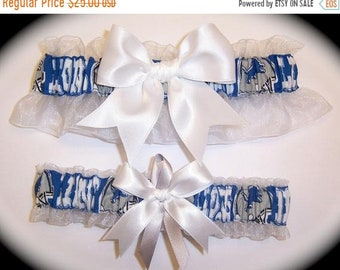 DETROIT LIONS handmade bridal wedding garter toss Pick Charm