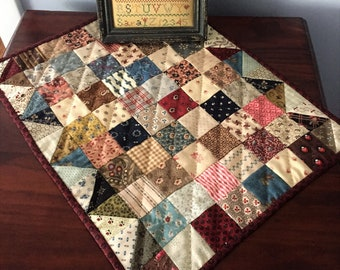 Easy Doll Quilt Pattern - Simple One-Patch Doll Quilt