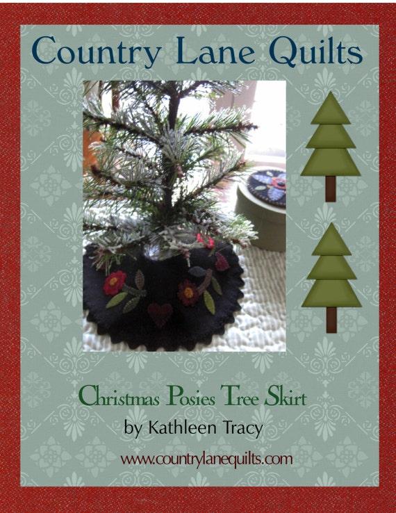 Mini Christmas Tree Skirt Pattern.Wool Mini Christmas Tree Skirt Pattern